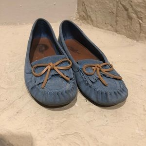 Lucky brand loafers moccasins look size 6m